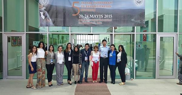 EMU Faculty of Health Sciences Participates in 5th National Physiotherapy and Rehabilitation Congress