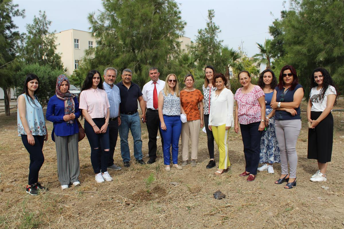 Tree planting in memory of Alpay Emer student of Nursing Department