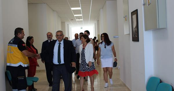 EMU Rector Prof. Dr. Necdet Osam participated in the 2nd TRNC Ambulance Rally and Uniralli Informatıon Course