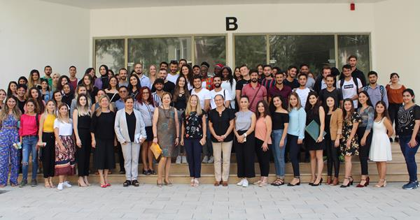 "Nursing Department Organized a ""Welcome Event"" for new students"