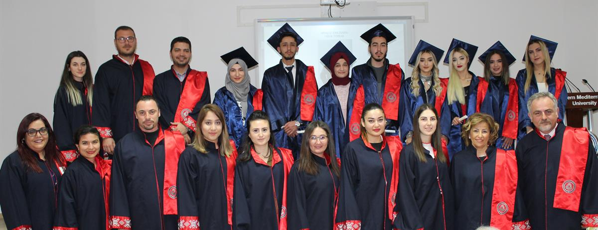 Faculty of Health Sciences organized oath ceremony for the graduates of the 2019-2020 Academic Year Fall Semester