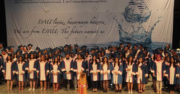 EMU Health Sciences Faculty Organised  an Oath Ceremony for New Graduates