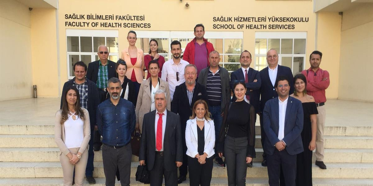 Health Sciences Faculty Visited by Turkey Liaison Offices & EMU Representatives
