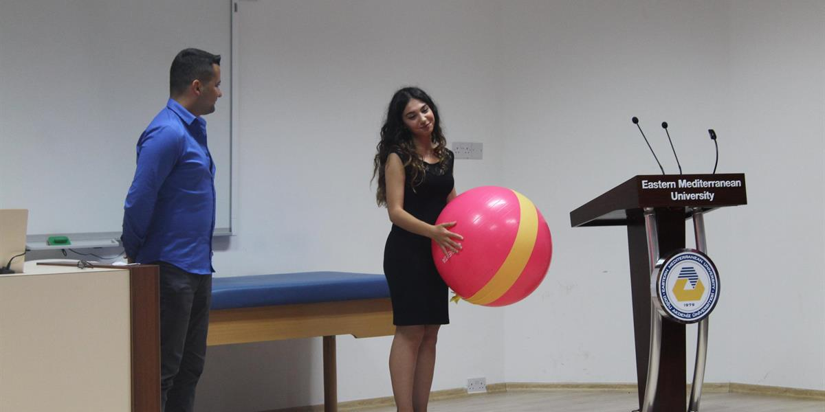 Physiotherapy and Rehabilitation Department Thera Ball Ceremony